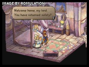 SaGa Frontier II for PSX screenshot