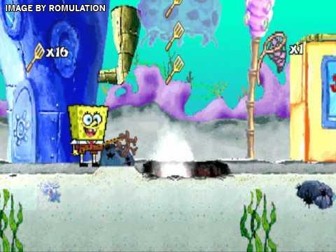 spongebob ps1 games