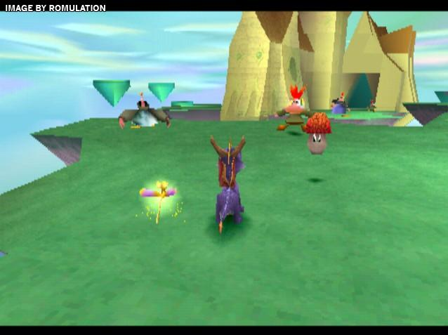 Spyro the Dragon (USA) PSX / Sony PlayStation ISO Download