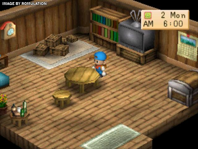 Harvest Moon - Back to Nature (USA) PSX / Sony PlayStation