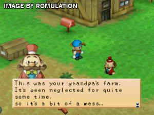 Harvest Moon - Back to Nature for PSX screenshot