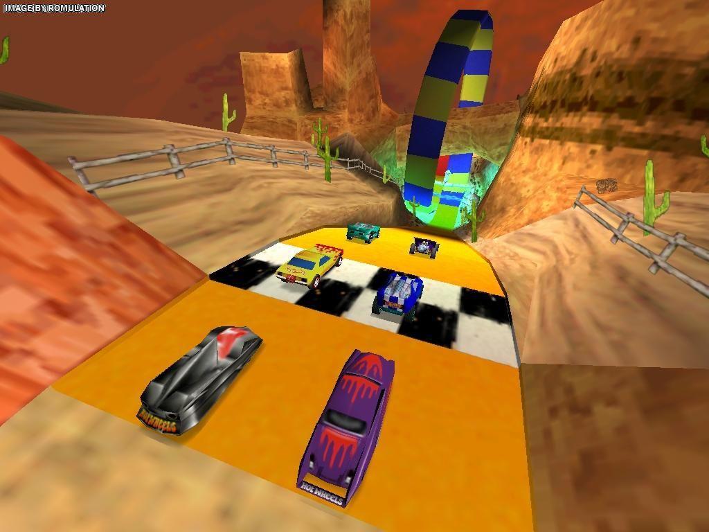 hot wheels turbo racing ps1