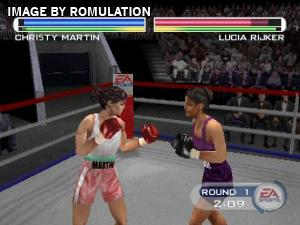 Knockout Kings 2001 for PSX screenshot
