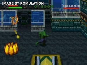 Incredible Hulk - The Pantheon Saga for PSX screenshot