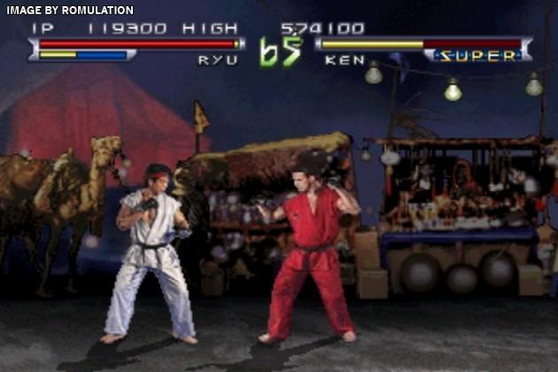 Street Fighter The Movie Usa Psx Sony Playstation