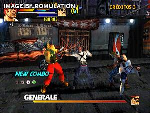 Gekido - Urban Fighters for PSX screenshot