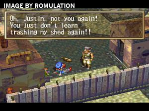 Grandia Disc 1 of 2 for PSX screenshot