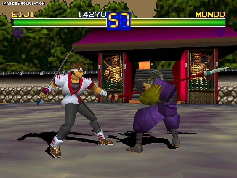 Battle Arena Toshinden Usa Sony Playstation Psx Iso Download