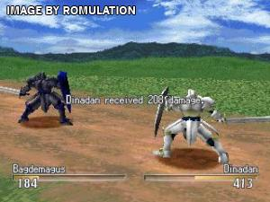 Brigandine - Legend of Forsena for PSX screenshot