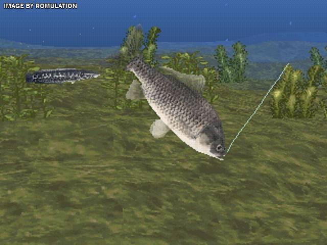 reel fishing ii usa psx sony playstation iso download