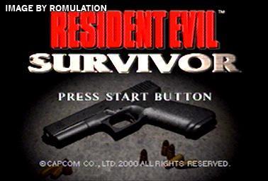 Resident Evil Survivor (USA) PSX / Sony PlayStation ISO