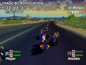 Road Rash - Jailbreak for PSX screenshot