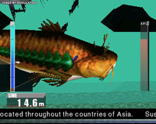 Let's play psx game: fisherman's bait 2 big ol' bass | catching.