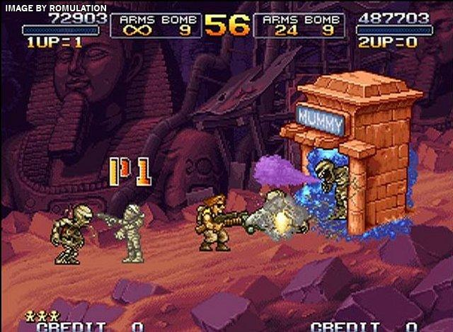 Metal Slug X (USA) PSX / Sony PlayStation ISO Download