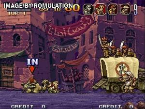 Metal Slug X for PSX screenshot