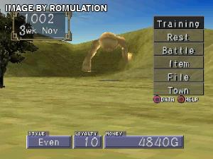 Monster Rancher 2 for PSX screenshot