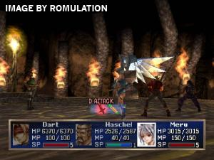 Legend of Dragoon, The Disc 1 of 4 for PSX screenshot