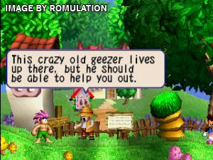 Tomba! for PSX screenshot