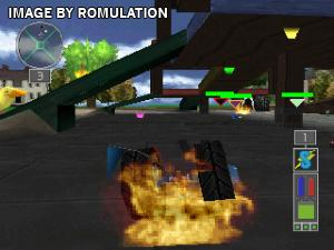 Twisted Metal - Small Brawl for PSX screenshot