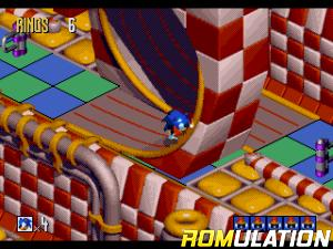 Sonic 3D Blast for Sega_Saturn screenshot