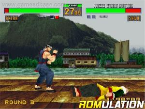 Virtua Fighter 2 for Sega_Saturn screenshot
