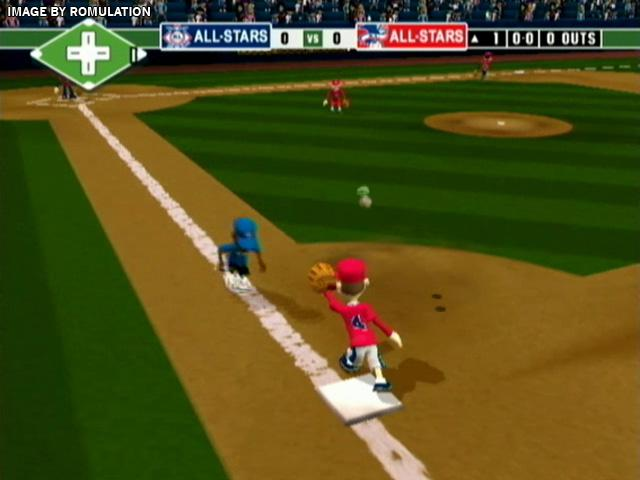 Lovely Backyard Baseball 10 For Wii Screenshot