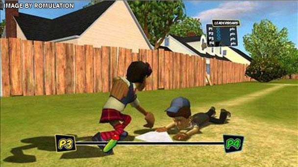 Backyard Sports - Sandlot Sluggers for Wii screenshot - Backyard Sports - Sandlot Sluggers (USA) Nintendo Wii ISO Download
