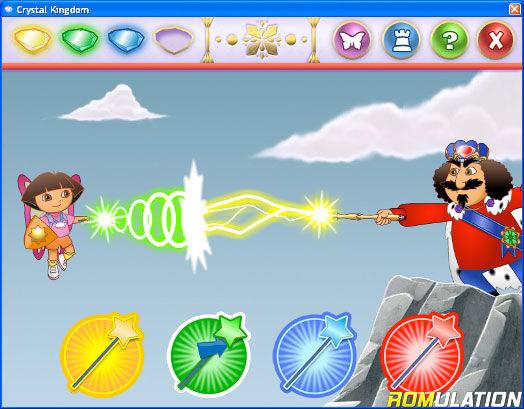 dora crystal kingdom coloring pages - dora saves crystal kingdom usa nintendo wii iso download