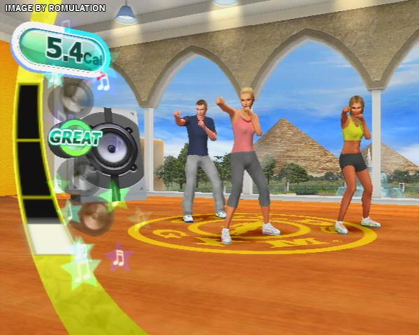 Gold S Gym Dance Workout For Wii Screenshot