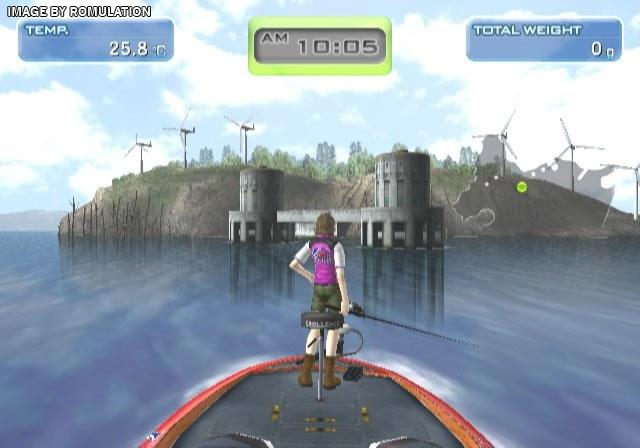 Hooked real motion fishing usa nintendo wii iso for Wii u fishing game