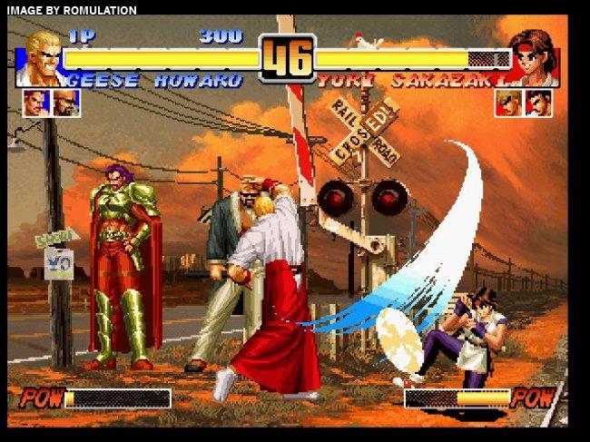 King of Fighters Collection - The Orochi Saga (USA) Nintendo