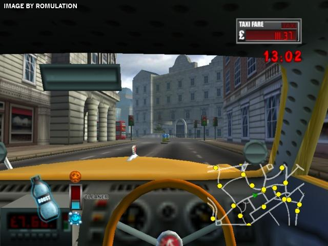 London taxi rush hour