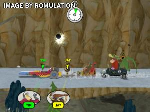 Wacky Races - Crash and Dash for Wii screenshot