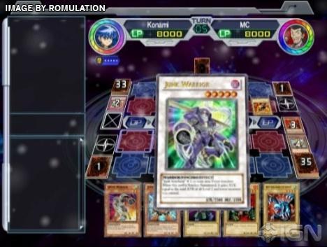 yu-gi-oh gx card almanac rom