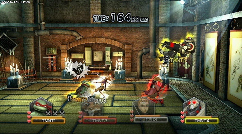 Teenage Mutant Ninja Turtles Smash Up Usa Nintendo Wii