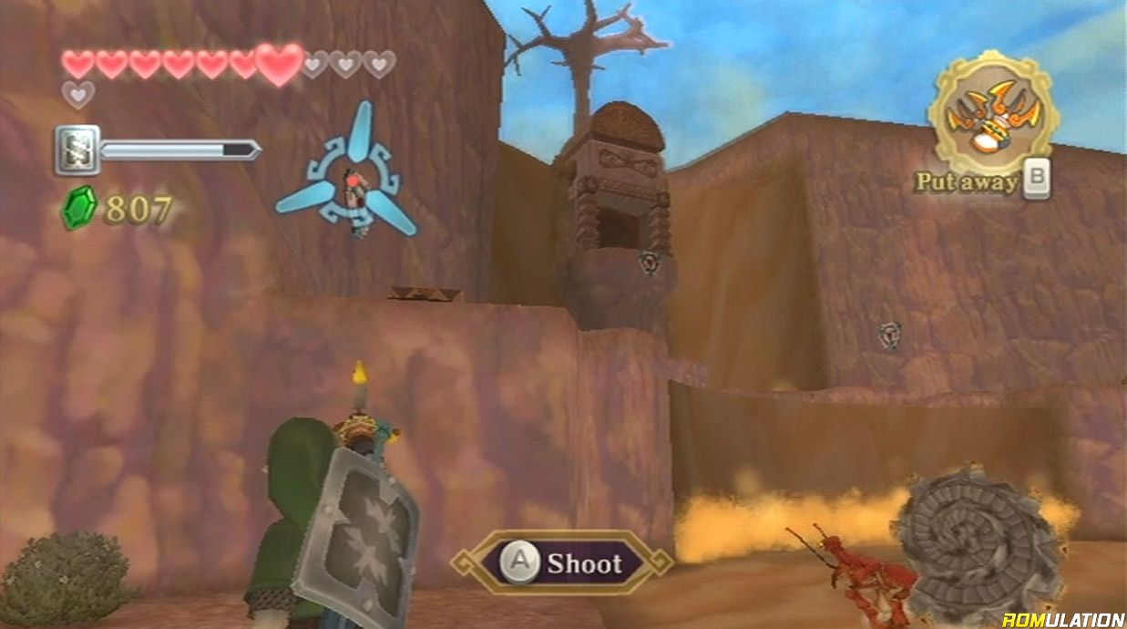 Legend of Zelda - Skyward Sword (USA) Nintendo Wii ROM & ISO Download