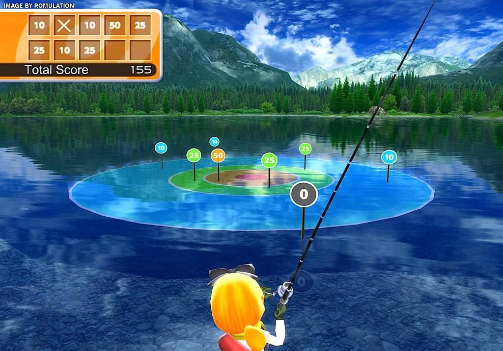 Fishing resort usa nintendo wii iso download romulation for Wii fishing games