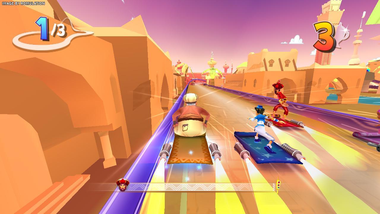 Aladdin Magic Racer for Wii screenshot