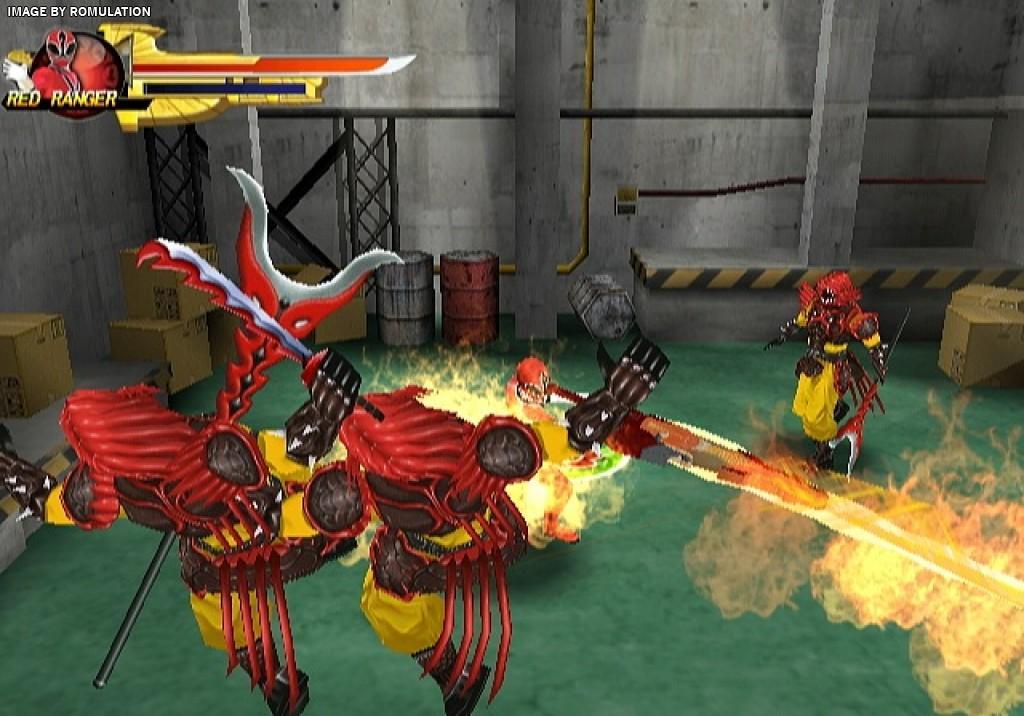 power ranger games for wii