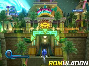 Sonic Colors for Wii screenshot